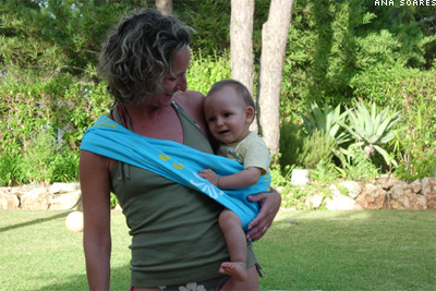baby sling by rosapomar.com